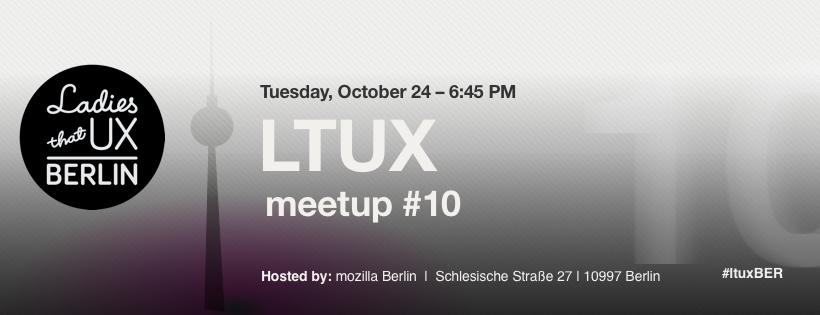 Ladies that  UX Berlin October 2017