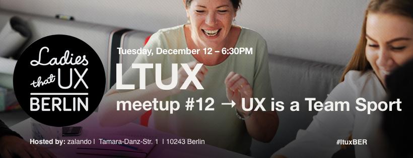 Ladies that UX Berlin Nr 12